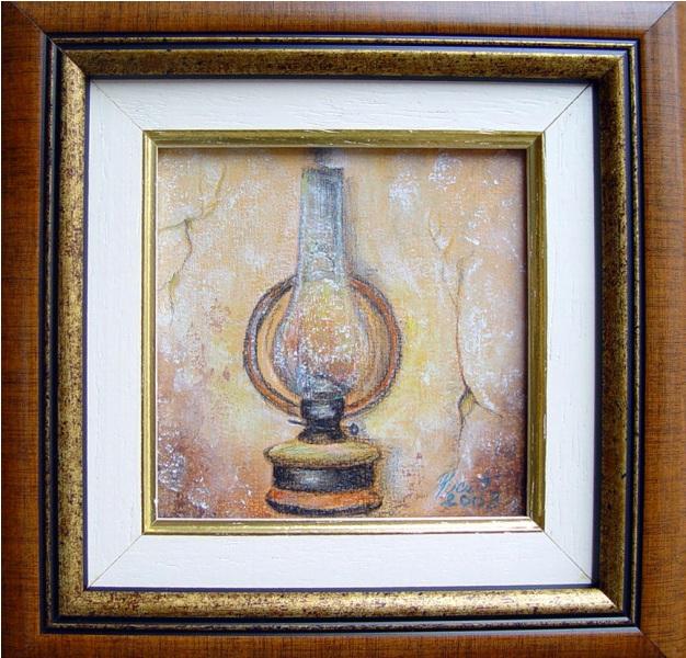 Lampa, 9 x 9 cm