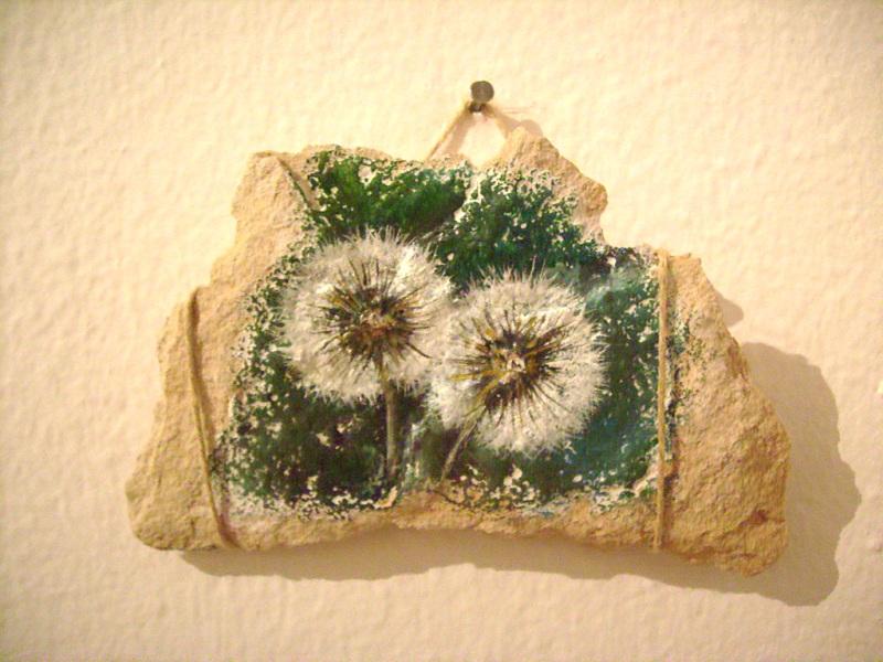 MAGIJA, ulje na kamenu,7x8cm