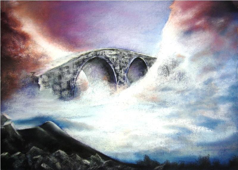 NEBESKI MOST, pastel , 50x70 cm,2006